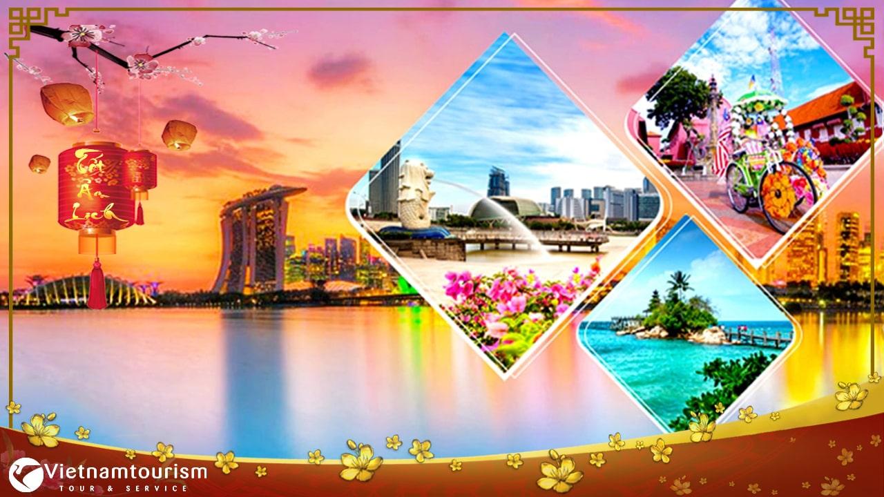 Du lịch Singapore – Malaysia – Indo Tết Nguyên Đán 2023 từ Hà Nội giá tốt