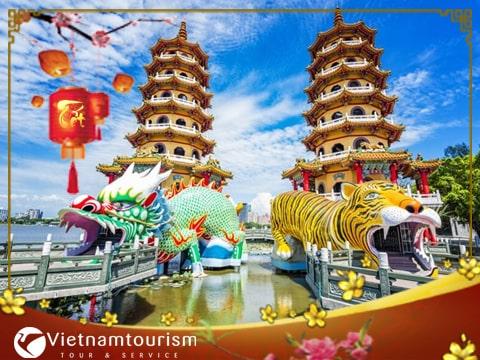 Du lịch Đài Loan Tết Âm lịch – Cao Hùng – Nam Đầu – Đài Trung – Đài Bắc Giá tốt từ TP.HCM