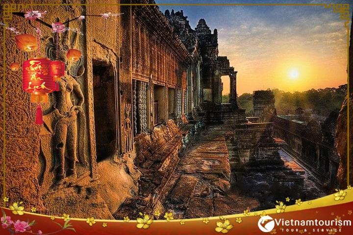 Du lịch Campuchia Tết Nguyên đán – Biển Kép – Bokor – Phnom Penh 4 ngày 3 đêm từ Sài Gòn