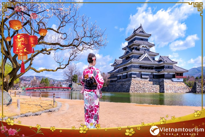 Du lịch Nhật Bản Tết Âm lịch 6 ngày 5 đêm từ Sài Gòn giá tốt