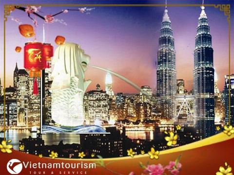 Du lịch Malaysia Singapore Tết 2022 giá tốt từ Sài Gòn – Đặc sắc nhạc nước