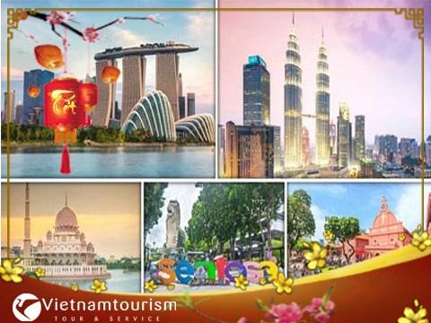 Du lịch Singapore – Malaysia – Indonesia Tết Nguyên Đán khởi hành từ Sài Gòn giá tốt