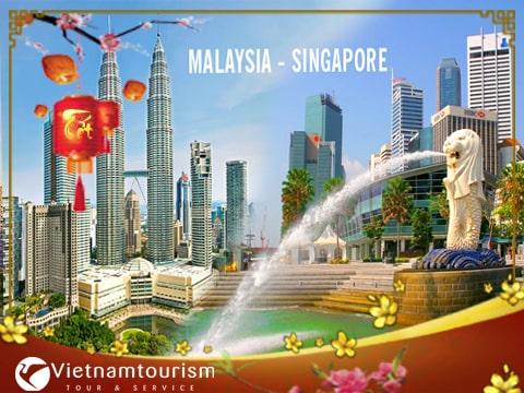 Du lịch Singapore – Malaysia Tết Âm lịch 6 ngày 5 đêm từ Sài Gòn – TOUR CAO CẤP