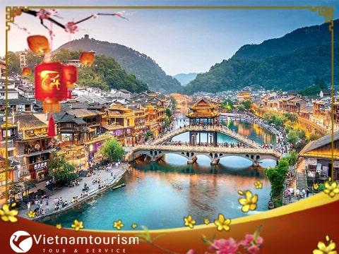 Du lịch Trung Quốc Tết Âm lịch – Trương Gia Giới – Phượng Hoàng Cổ Trấn từ Sài Gòn