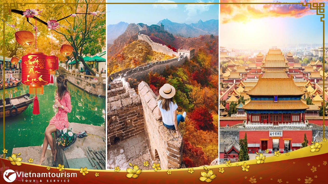 Du lịch Trung Quốc Tết 2023 – Bắc Kinh – Vạn Lý Trường Thành 4 ngày giá tốt từ Sài Gòn