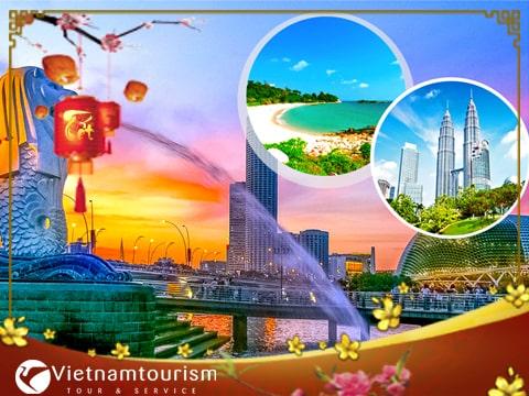 Du lịch Tết Singapore – Malaysia 4 ngày 3 đêm từ Sài Gòn giá tốt