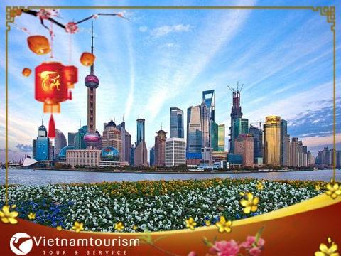 Du lịch Trung Quốc Tết âm lịch 7 ngày 6 đêm từ Sài Gòn giá tốt