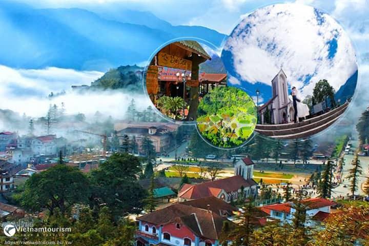 Du lịch Sapa 2 ngày 1 đêm – Cát Cát – Hàm Rồng khởi hành từ Hà Nội giá tốt