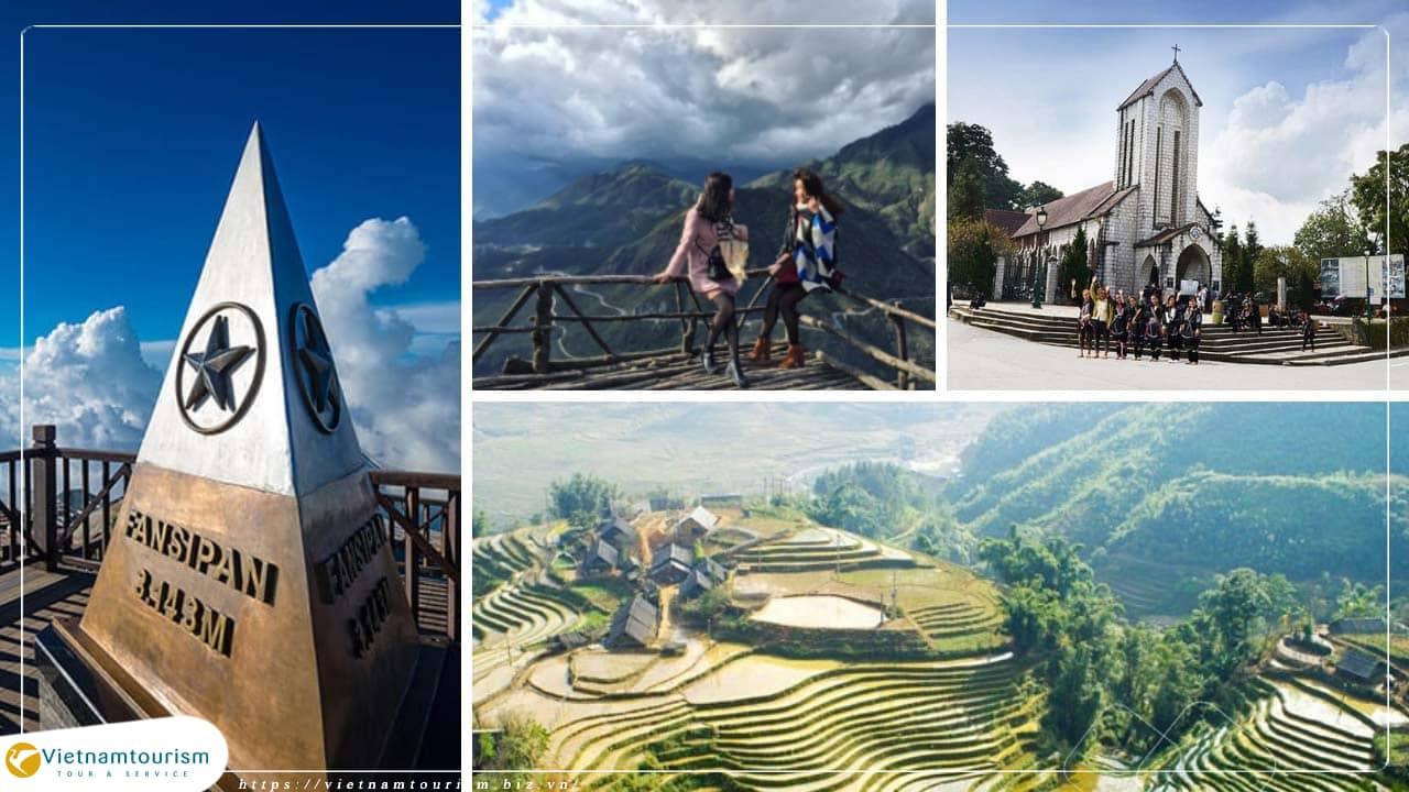 Du lịch Miền Bắc – Hà Nội – Sapa – Chinh Phục Đỉnh Fansipan 4 ngày từ Sài Gòn