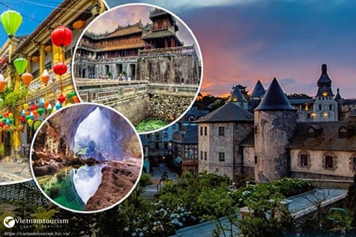 Du lịch – Đà Nẵng – Bà Nà – Hội An – Huế – 4 ngày giá tốt từ Sài Gòn 2021