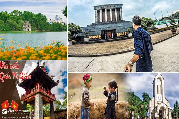 Du lịch Miền Bắc – Hà Nội – Sapa – Hạ Long 5 Ngày 4 đêm từ Sài Gòn giá tốt