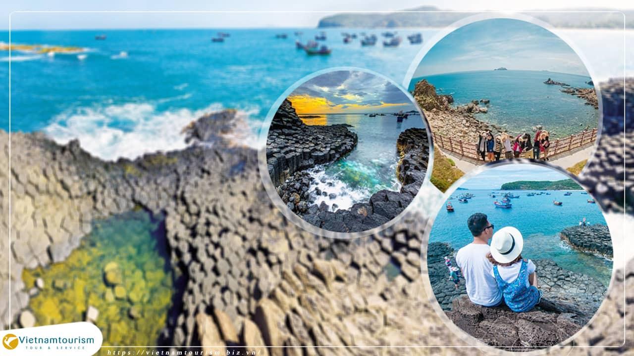 Du lịch Quy Nhơn – Phú Yên – Eo Gió – Kỳ Co – Tuy Hòa – Ghềnh Đá Đĩa từ Sài Gòn giá tốt 2021