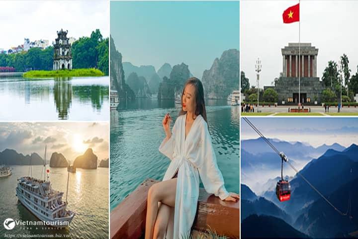 Du Lịch Miền Bắc 4 ngày 3 đêm – Hà Nội – Vịnh Hạ Long – Sapa  giá tốt từ Sài Gòn