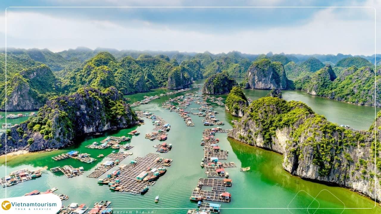 Du lịch Cát Bà 2 ngày 1 đêm – Vịnh Lan Hạ khởi hành từ Hà Nội giá tốt