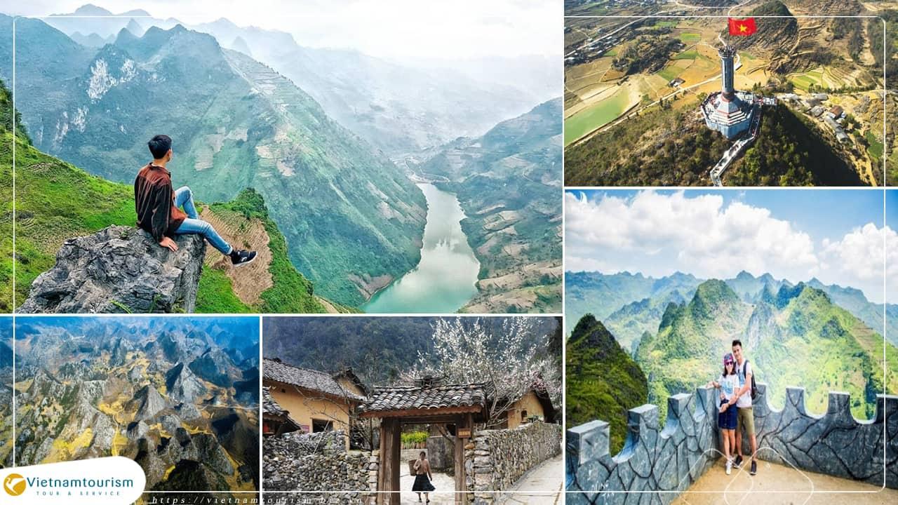 Du lịch Đông Bắc – Hà Giang – Đồng Văn – Cao Bằng 5N4Đ từ Sài Gòn