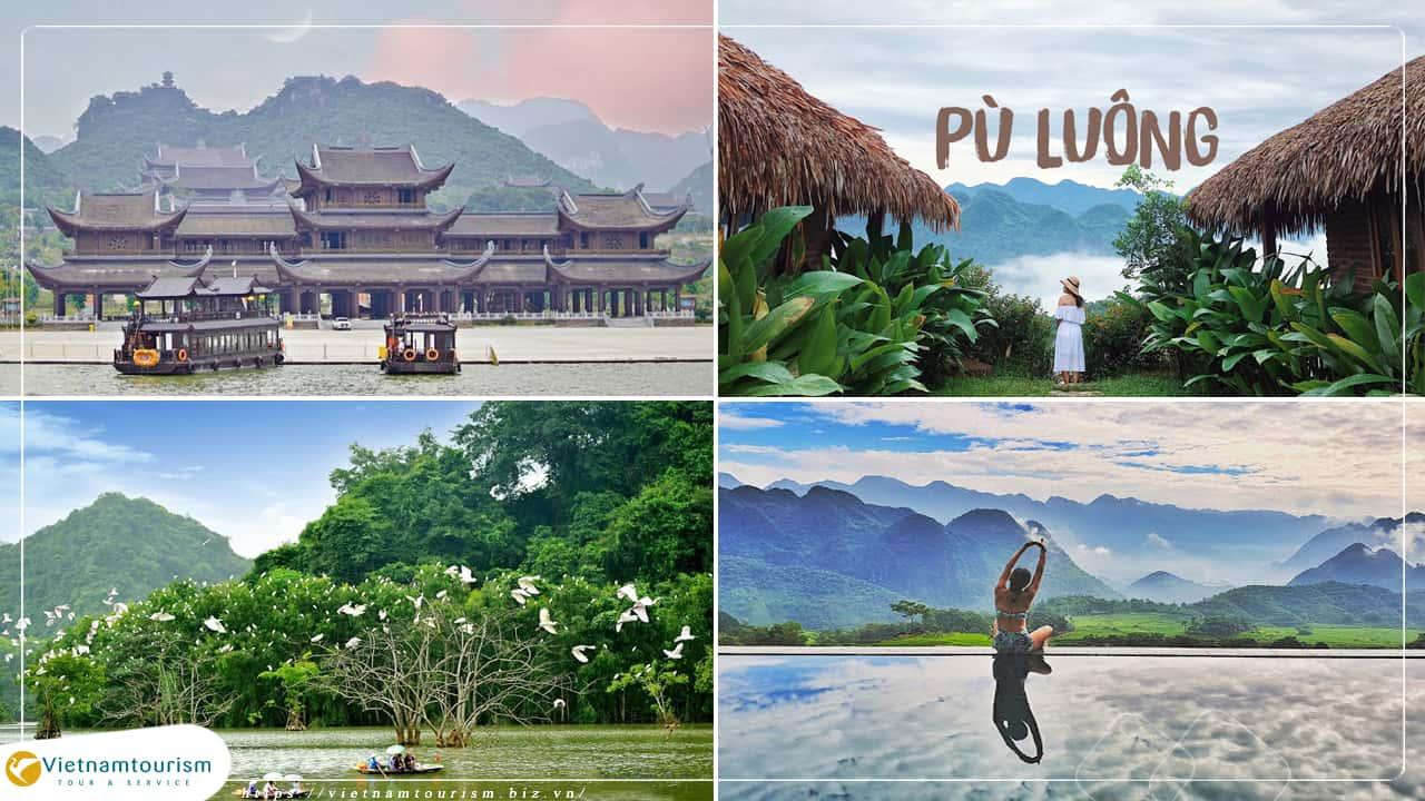 Du lịch Mai Châu – Pù Luông – Tam Chúc – Thung Nham 4 ngày 3 đêm từ Sài Gòn