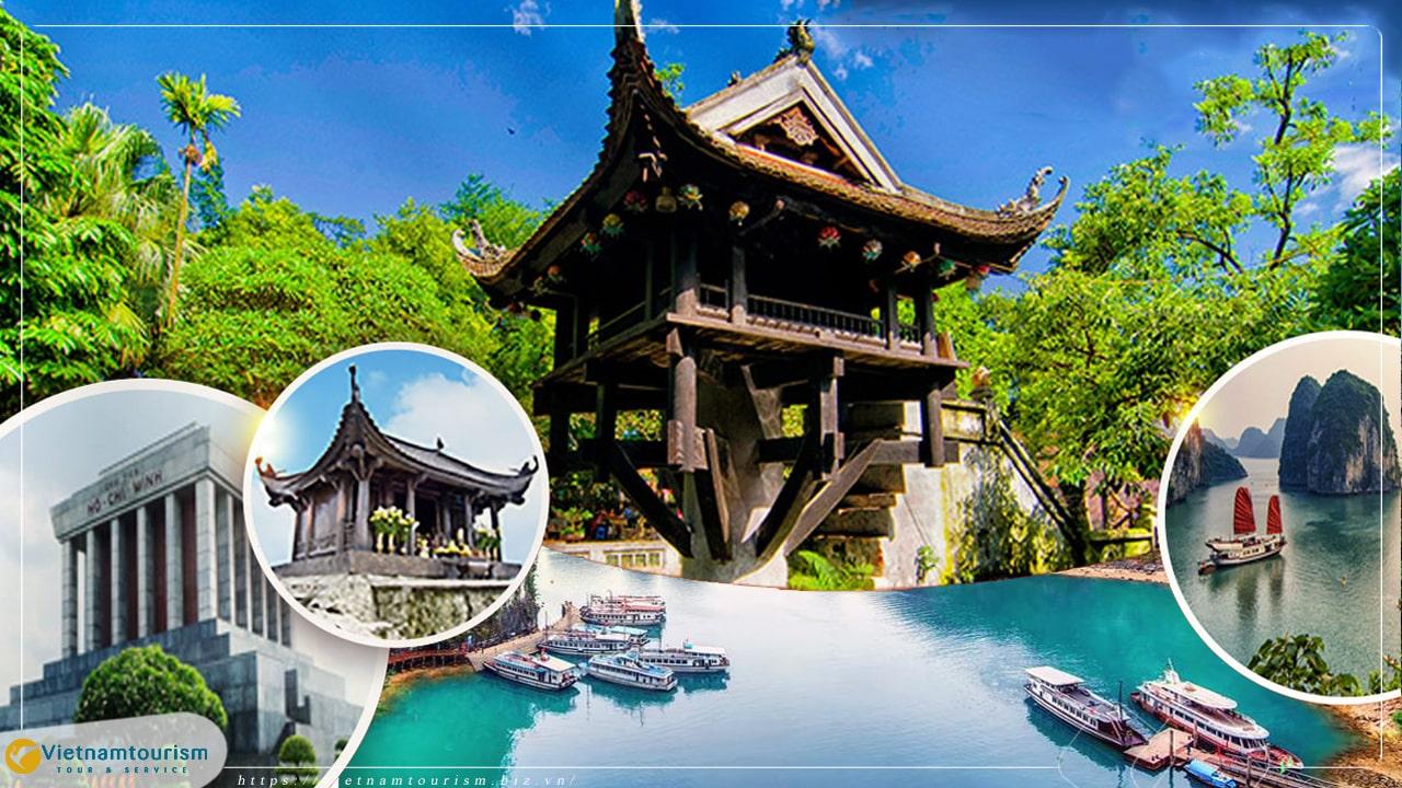 Du lịch Tết Dương lịch 2022 Hà Nội – Hạ Long – Ninh Bình 4 ngày 3 đêm từ Sài Gòn