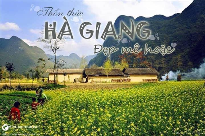 Tour Hà Giang 2 ngày 2 đêm – Cao Nguyên Đá – Cột Cờ Lũng Cú – Mèo Vạc từ Hà Nội