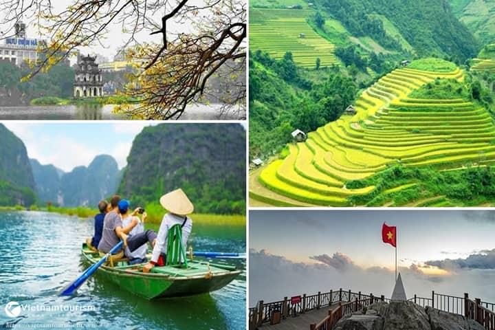 Du lịch Miền Bắc 4 ngày 3 đêm – Ninh Bình – Bái Đính – Tràng An – Sapa giá tốt từ Sài Gòn