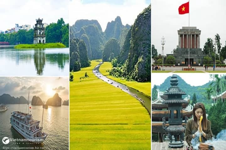 Du lịch Miền Bắc – Hà Nội – Ninh Bình – Hạ Long – Yên Tử – Chùa Hương 5 ngày từ Sài Gòn