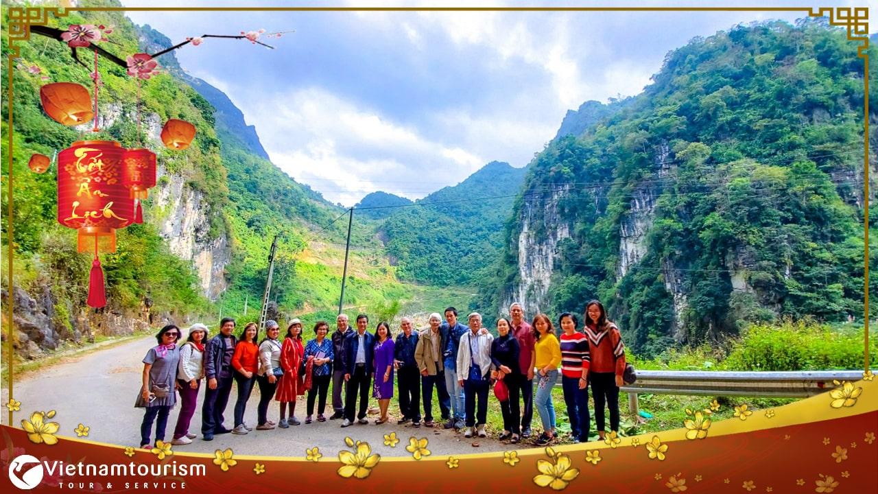 Du lịch Tết Âm lịch – Hà Giang – Cao Nguyên Đá Đồng Văn – Thác Bản Giốc – Động Ngườm Ngao