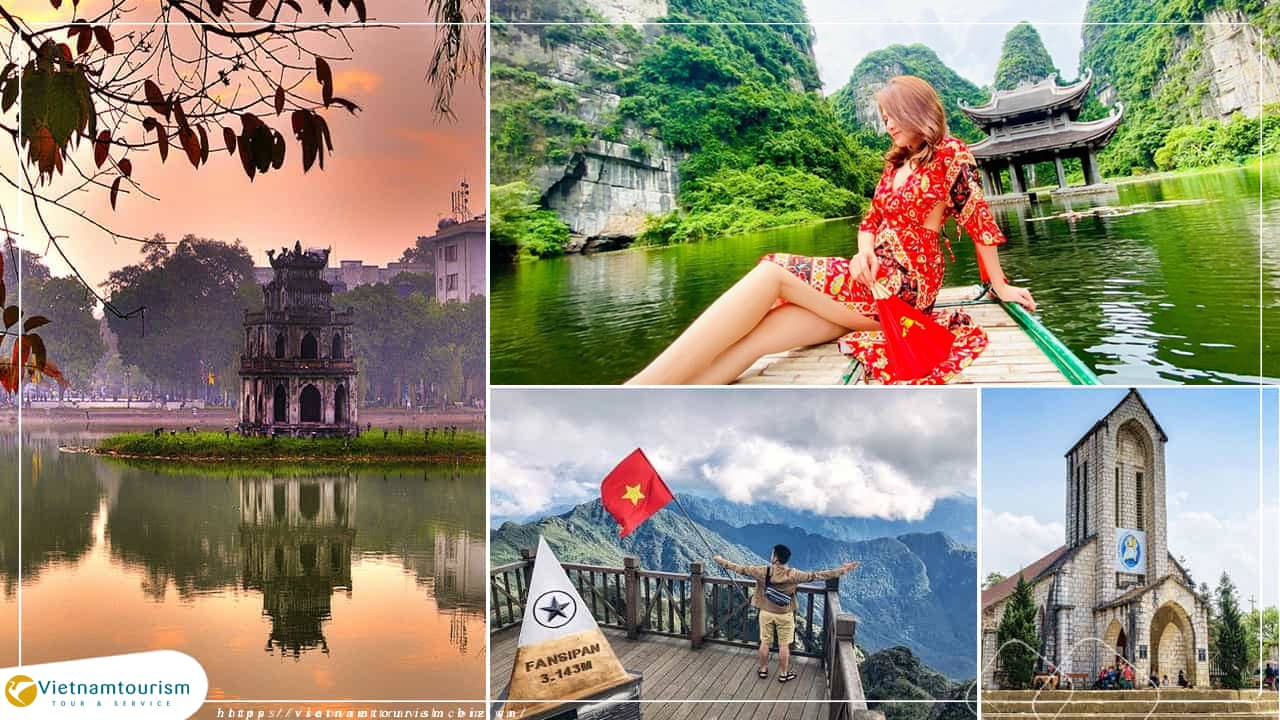 Du lịch Miền Bắc – Hà Nội – Ninh Bình- Sapa – Fansipan 4N3Đ từ Sài Gòn
