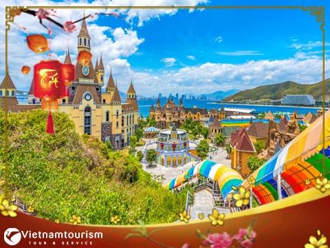 Du lịch Nha Trang – Bình Ba – Vinpearland 3 ngày 3 đêm Tết Âm lịch 2022 giá tốt từ Sài Gòn