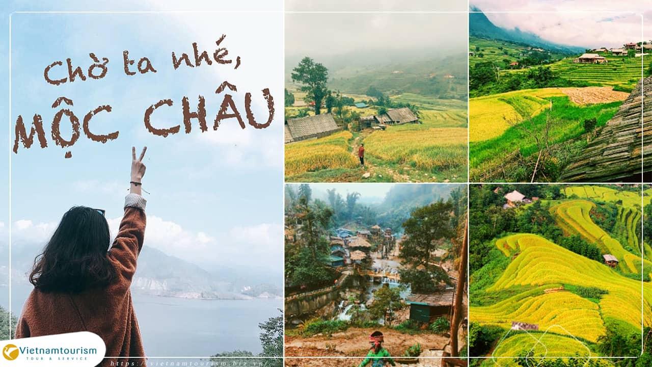 Du lịch Mai Châu – Mộc Châu – Sơn La – Điện Biên 3 ngày giá tốt từ Hà Nội
