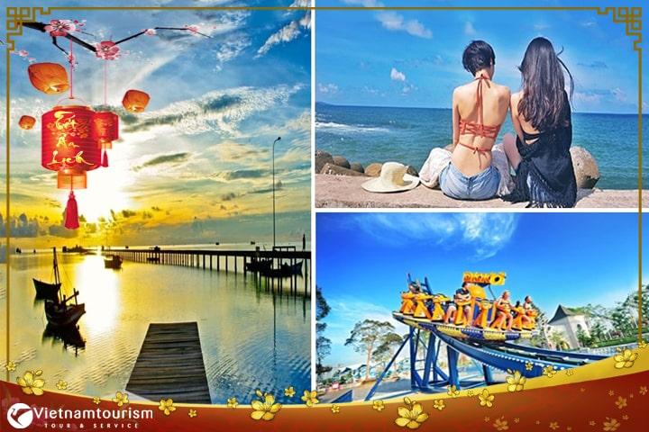 Tour Tết Âm lịch 2022 – Tour Phú Quốc 4 ngày khám phá 4 Đảo từ Sài Gòn – Tour Cao Cấp