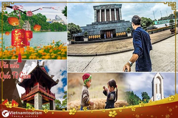 Du lịch Miền Bắc Tết 2022 – Hà Nội – Hạ Long – Sapa – Ninh Bình 5 ngày từ Sài Gòn