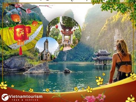 Du lịch Miền Bắc Tết Âm lịch 2022 – Hà Nội – Sapa – Fansipan – Ninh Bình 4 ngày  từ Sài Gòn