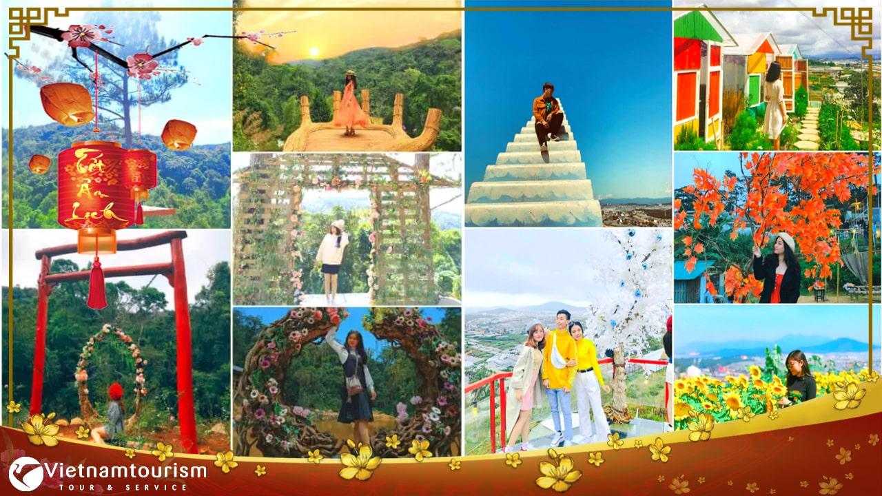 Du lịch Đà Lạt 3 ngày 2 đêm dịp Tết Âm Lịch 2022 khởi hành từ Hà Nội
