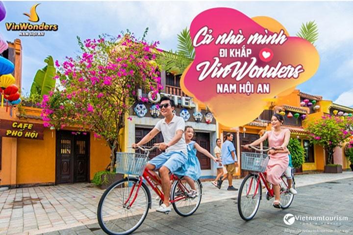 Tour Vinpearl Land Nam Hội An 1 ngày giá siêu tiết kiệm từ Đà Nẵng